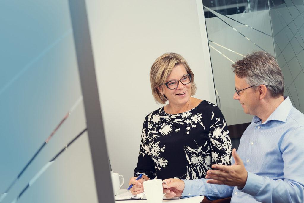 Revisorer Svein-Erik Olsen og Anne Grethe Wirum