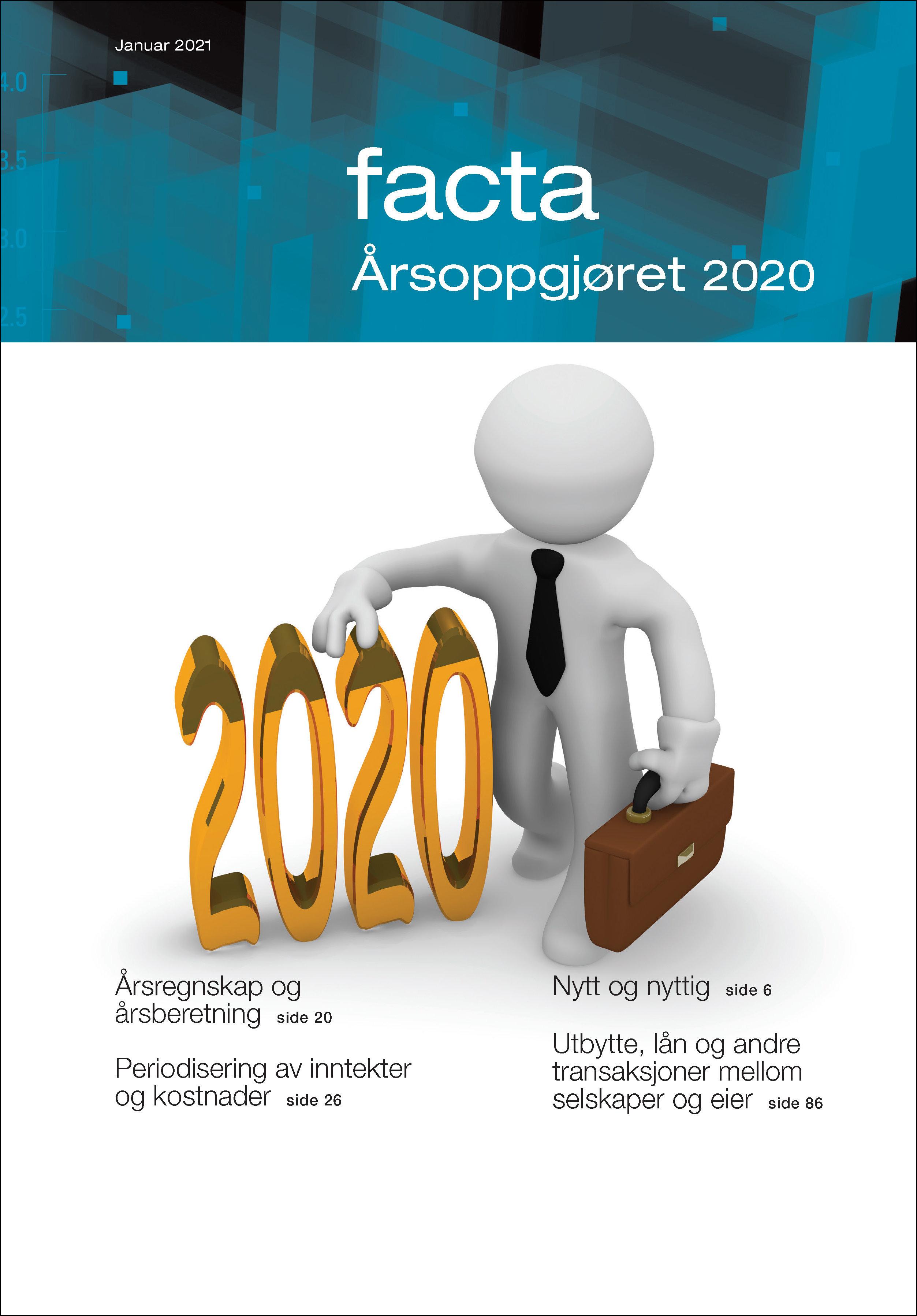 eFacta for årsoppgjøret 2020